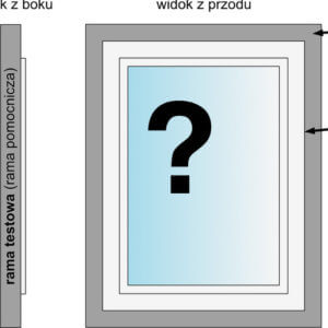 okna do badań - przygotowanie